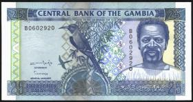Gambia P.18 25 Dalasis (1996) (1)