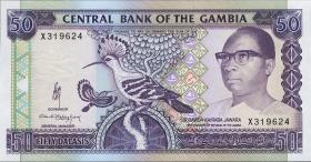 Gambia P.15a 50 Dalasis (1991-95) (1)