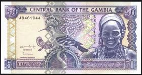 Gambia P.19 50 Dalasis (1996) (1)