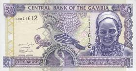 Gambia P.23a 50 Dalasis (2001) (1)