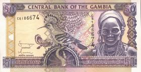 Gambia P.23c 50 Dalasis (2001) (1)