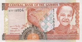 Gambia P.20a 5 Dalasis (2001) (1)