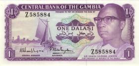 Ghana P.04gr 1 Dalasi (1971-87) Serie Z (1)