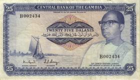 Ghana P.07b 25 Dalasis (1972-86) (3)