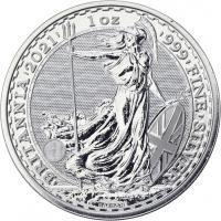 Großbritannien Silber-Unze 2021 Britannia