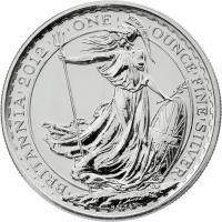 Großbritannien Silber-Unze 2012 Britannia