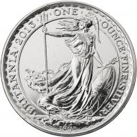 Großbritannien Silber-Unze 2013 Britannia
