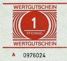 DDR Gefängnisgeld Serie A 1 Pfennig (1)