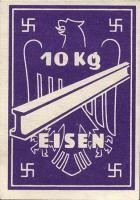 Ersatzzahlungsmittel 3. Reich Eisen 10 kg (2)