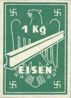 Ersatzzahlungsmittel 3. Reich Eisen 1 kg (1)