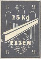 Ersatzzahlungsmittel 3. Reich Eisen 25 kg (2)