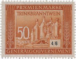 Generalgouvernement 50 Punkte Trinkbranntwein (1)