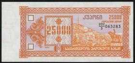 Georgien / Georgia P.40 25000 Laris 1993 (1)