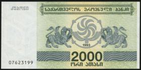 Georgien / Georgia P.44 2000 Laris 1993 (1)