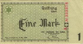 Get-02b Getto Litzmannstadt 1 Mark 1940  (1-)