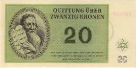 Get-12 Getto Theresienstadt 20 Kronen 1943 (1)