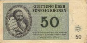 Get-13 Getto Theresienstadt 50 Kronen 1943 (3)
