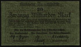 Mil-07a Reichsmarine Ostseebereich 20 Milliarden Mark 1923 (2)