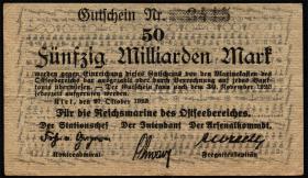 Mil-08a Reichsmarine Ostseebereich 50 Milliarden Mark 1923 (3+)