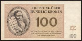 Get-14 Getto Theresienstadt 100 Kronen 1943 (1)