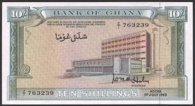 Ghana P.01d 10 Shillings 1963 (1)