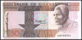 Ghana P.22a 50 Cedis 1979 (1)