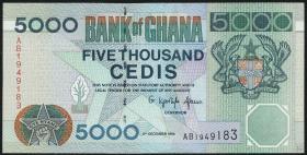 Ghana P.34a 5000 Cedis 1996 (1)