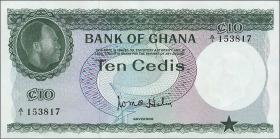 Ghana P.07 10 Cedis (1965) (1)
