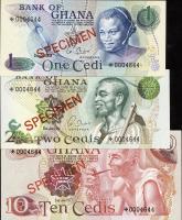 Ghana P.CS1 1 - 10 Cedis 1976-1977 (1)