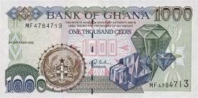 Ghana P.32a 1000 Cedis 1996 (1)