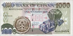 Ghana P.32h 1000 Cedis 2002 (1)