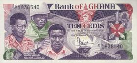 Ghana P.23 10 Cedis 1984 (1)