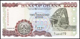 Ghana P.30b 2000 Cedis 1995 (1)