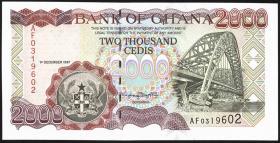 Ghana P.33b 2000 Cedis 1997 (1)