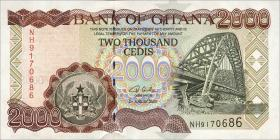 Ghana P.33h 2000 Cedis 2003 (1)