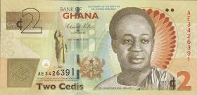 Ghana P.37A 2 Cedis 2010 (1)