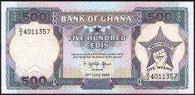 Ghana P.28c 500 Cedis 1994 (1)