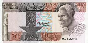 Ghana P.22b 50 Cedis 1980 (1)