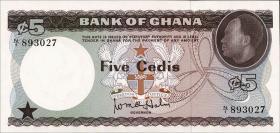 Ghana P.06 5 Cedis (1965) (1)