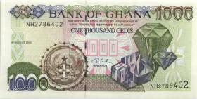 Ghana P.32i 1000 Cedis 2003 (1)
