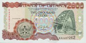 Ghana P.33f 2000 Cedis 2001 (1)