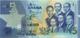 Ghana P.38f 5 Cedis 2015 (1)