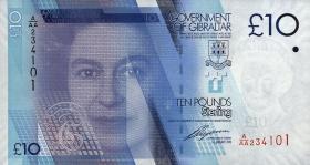 Gibraltar P.36 10 Pounds 2010