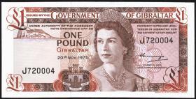 Gibraltar P.20a 1 Pound 1975 (1)