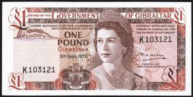 Gibraltar P.20b 1 Pound 1979 (1)