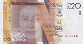 Gibraltar P.37 20 Pounds 2011 (1)