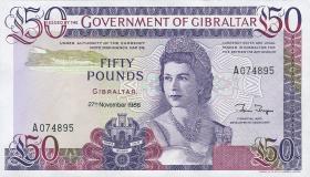 Gibraltar P.24 50 Pounds 1986 (1)