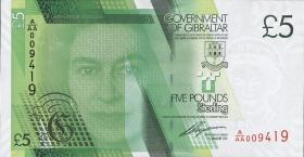 Gibraltar P.35 5 Pounds 2011 (1)