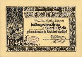 Goldmark Kriegsspende 1914-1915 (1)