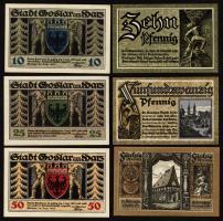 Notgeld Goslar (3 Werte)